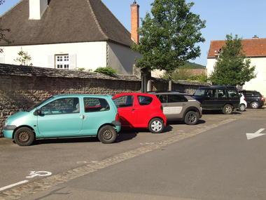 parking eglise