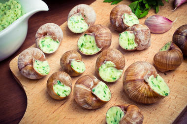 Escargots frais