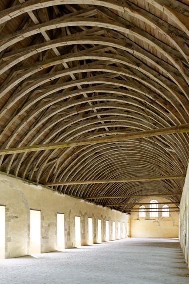 Dortoir Abbaye de Fontenay