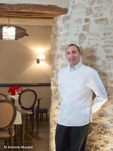 Le Carmin Beaune 6 portrait du Chef Christophe Quéant