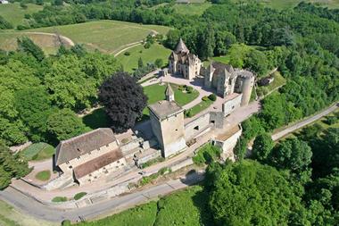 Château de Couches dit de Marguerite de Bourgogne