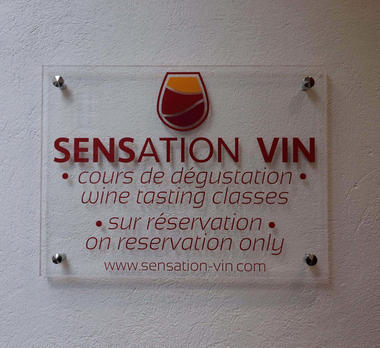 enseigne Sensation Vin