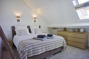 Chambre - lit 160 - Vue  Hospices