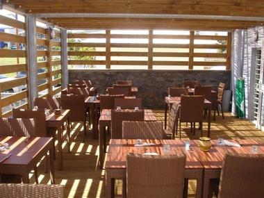 Terrasse du restaurant Le Thalès - Thalès (Le)