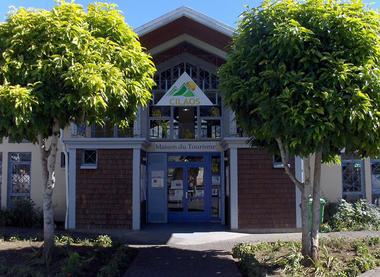Façade de l'antenne de l'OTI Sud à Cilaos - Office de Tourisme de Cilaos