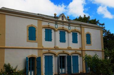 façade arrière du Musée. - Musée de Villèle