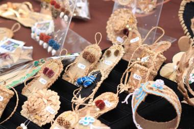 Artisanat Vacoa, OM Créations, Saint-Joseph, La Réunion. - OM créations Art Vacoa