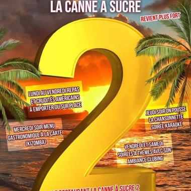 1 - Restaurant La Canne à Sucre 2