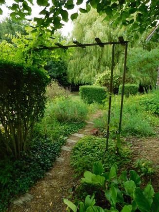 Le jardin du curé