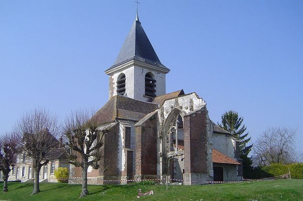 Laines-aux-Bois - L'église.JPG