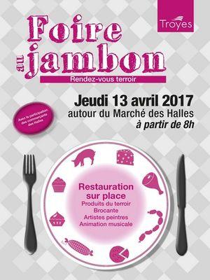 Foire au jambon troyes troyes champagne tourisme for Salon gastronomie troyes