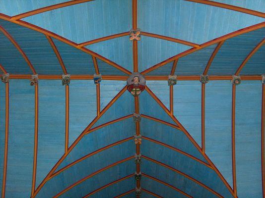 voute - église - Le Croisty - crédit photo OTPRM (3).jpg