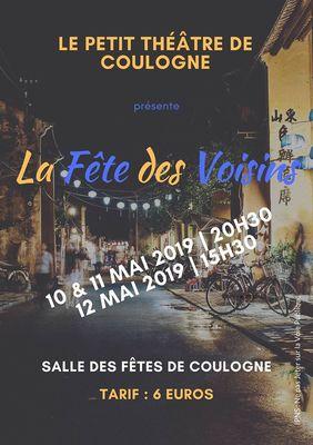 La Fête des Voisins par Le petit Théâtre de Coulogne 10 au 12 mai.jpg