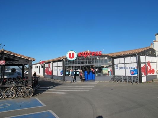 Supermarche u express ars en re ars en r destination ile de r - Office tourisme ars en re ...