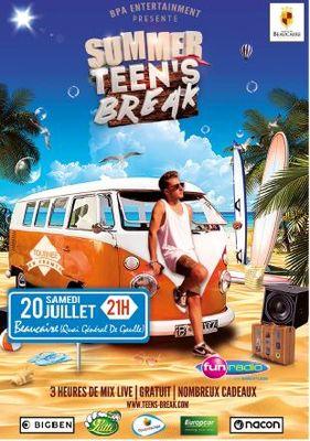 Affiche Summer Teen's Break.JPG