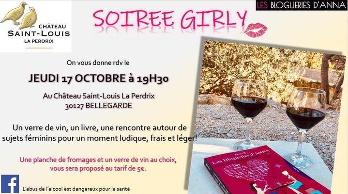 Affiche Soirée Girly au Château St Louis La Perdrix le 17 octobre.jpg