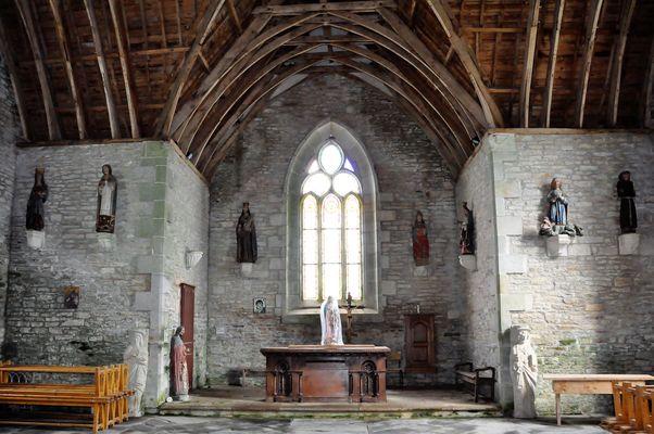 chapelle de Mousterien - Gourin - Pays roi Morvan - Morbihan Bretagne Sud - credit photo OTPRM (17).JPG