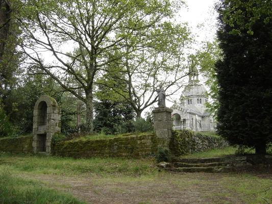 Chapelle du Sacré-Coeur - Berné - Pays roi Morvan - Morbihan Bretagne sud - CP OTPRM (15).JPG