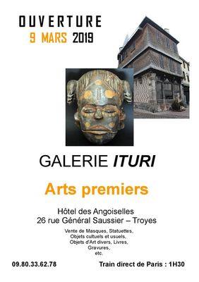 9 mars - AFFICHE ouverture galerie Ituri.jpg