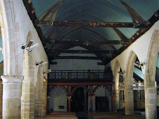 Eglise - Lanvenegen -  Pays roi Morvan - Morbihan Bretagne sud - CP OTPRM (29).JPG