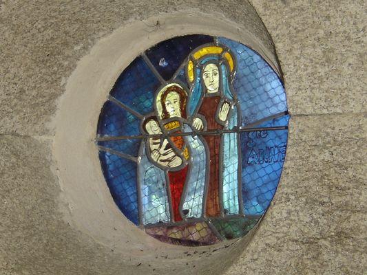 Chapelle St Georges - Lanvenegen - Pays roi Morvan - Morbihan Bretagne sud - CP OTPRM (4).JPG