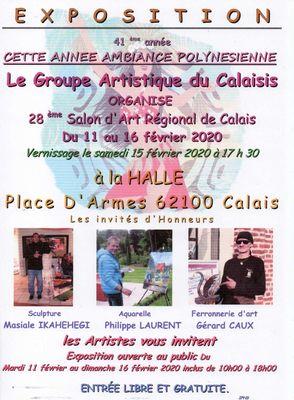 Expo groupe artistique du calaisis la halle 11 au 16 février.jpg