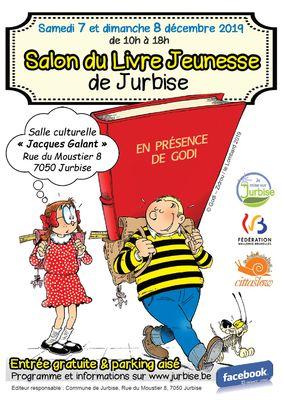 Salon Du Livre Jeunesse De Jurbise Jurbise Visitmons