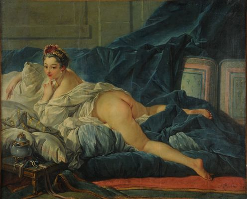 François Boucher (1703-1770), L'Odalisque, 1743 © MBA Reims 2016, Photo Christian Devleeschauwer.JPG