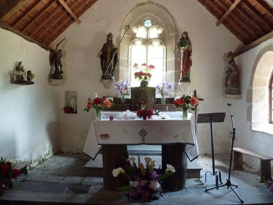 intérieur - chapelle St Symphorien - Bever - Gourin - ©OTPRM (2).JPG