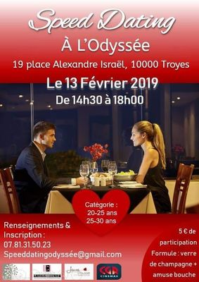 Soiree speed dating troyes