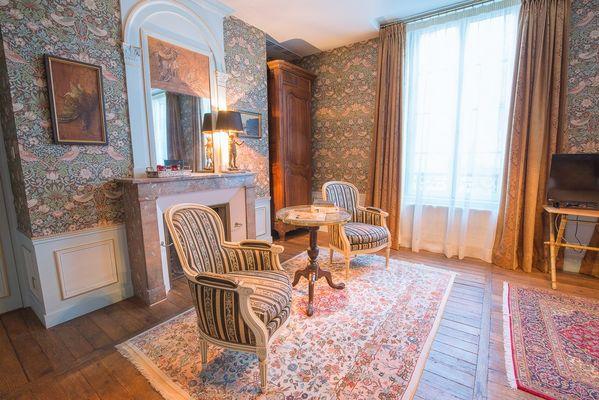 Le salon de la chambre Kalinka
