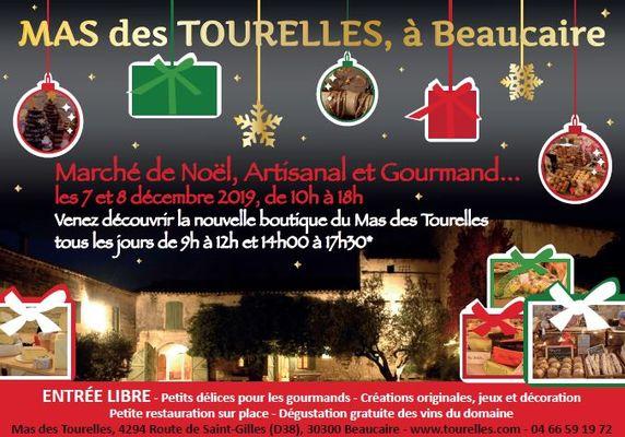 Marché de Noël Mas des Tourelles les 7 et 8 décembre.JPG