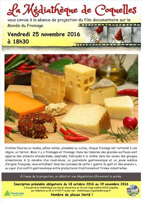 Affiche projection documentaire fromage  25 novembre 2016.jpg