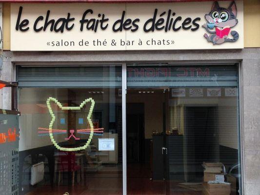 Valenciennes - Le Chat Fait des Délices - Restaurant - Façade - 2018.jpg