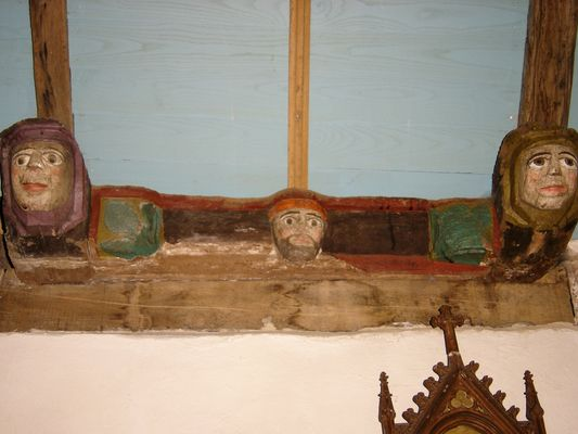 Eglise - Lanvenegen -  Pays roi Morvan - Morbihan Bretagne sud - CP OTPRM (18).JPG