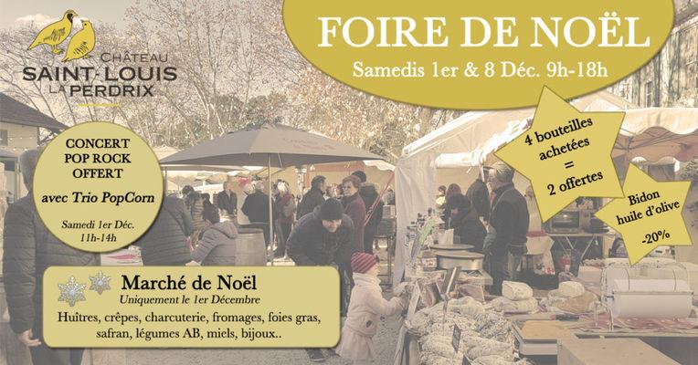 Affiche Foire de Noël Château St Louis La Perdrix.jpg