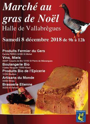 Affiche Marché au gras à Vallabrègues.JPG