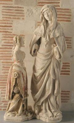 l'Education de la Vierge, anonyme troyen, 16ème siècle pour Vauluisant sit.jpg