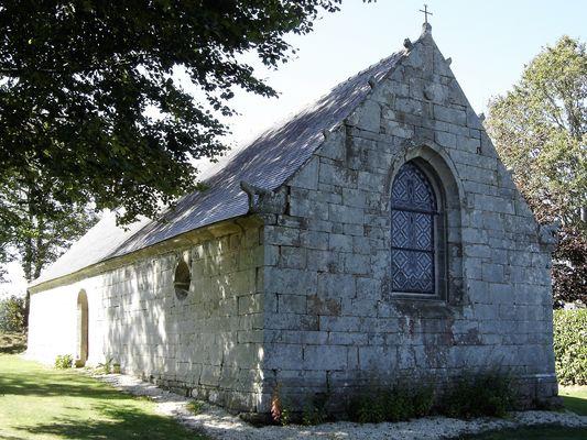 Chapelle St Georges - Lanvenegen - Pays roi Morvan - Morbihan Bretagne sud - CP OTPRM (7).JPG