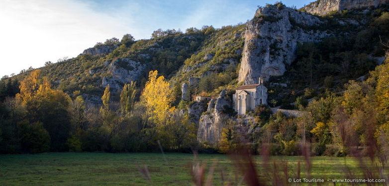 Automne en Vallée du Célé - Chapelle du Roc-Traoucat © Lot Tourisme - C. Novello 151023-180728_800x384.jpg