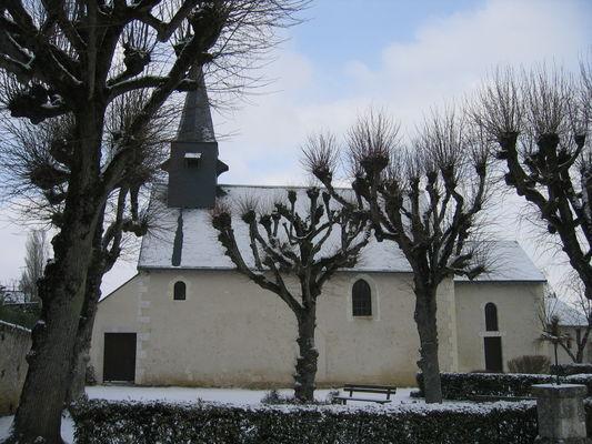 5 Eglise sous la neige..JPG