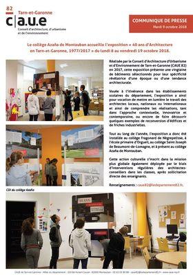 du 08.10.2018 au 19.10.2018 40 ans d'Architecture en Tarn-et-Garonne.JPG