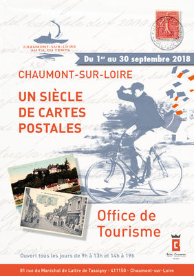 Exposition chaumont sur loire un si cle de cartes postales - Chaumont sur loire office du tourisme ...