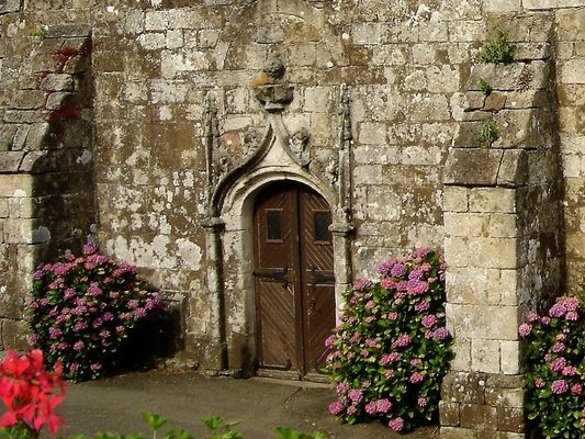 Eglise - Lanvenegen -  Pays roi Morvan - Morbihan Bretagne sud - CP OTPRM (9).JPG