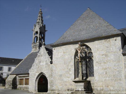 Eglise - Lanvenegen -  Pays roi Morvan - Morbihan Bretagne sud - CP OTPRM (34).JPG