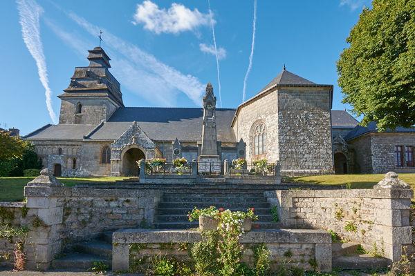 Eglise ND de l'Assomption - Le Faouët- Pays roi Morvan- Bretagne Sud