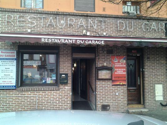 Le Restaurant du Garage - Anzin -  Restaurant - Façade (1) - 2018.jpg