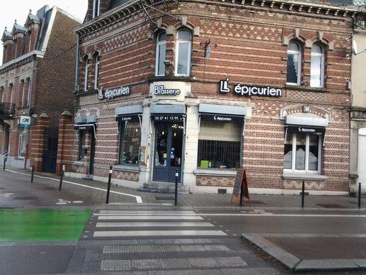 L'Epicurien - Valenciennes -  Restaurant - Façade - 2018.jpg
