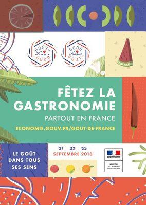affiche fête de la gastronomie 2018.JPG