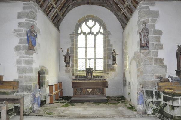 Chapelle St Eloi - Lanvenegen - Pays roi Morvan - Morbihan Bretagne sud - CP OTPRM (32).JPG